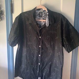 Volcom button down shirt sleeve shirt